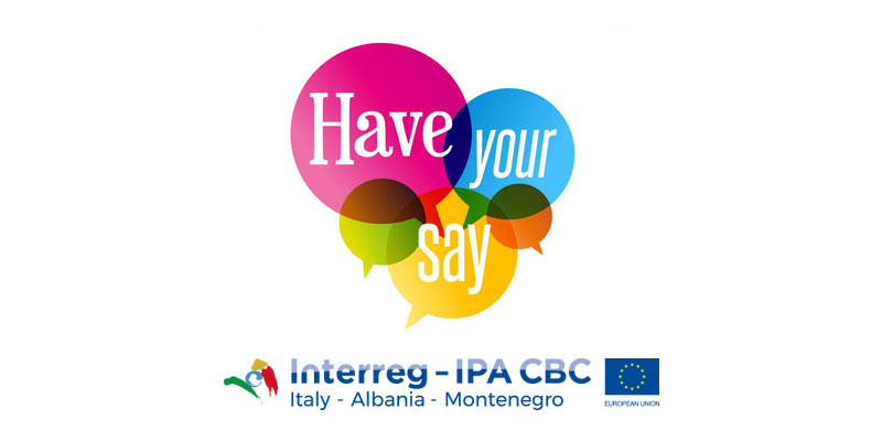 have your say! INTERREG