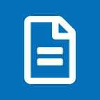 Single document icon