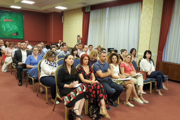 Audience of the Tirana seminar
